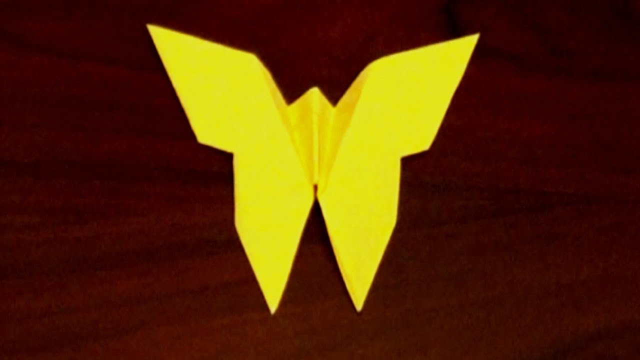 Make Easy Origami Butterfly Easy Origami Butterfly Tutorial How To Make An Origami Butterfly