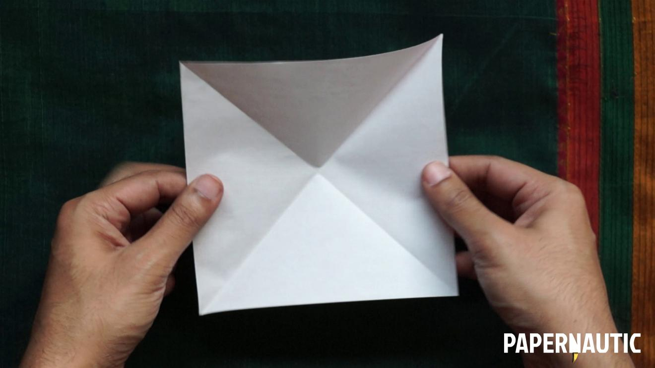 Make Easy Origami Butterfly How To Make An Easy Origami Butterfly Video Tutorial Papernautic