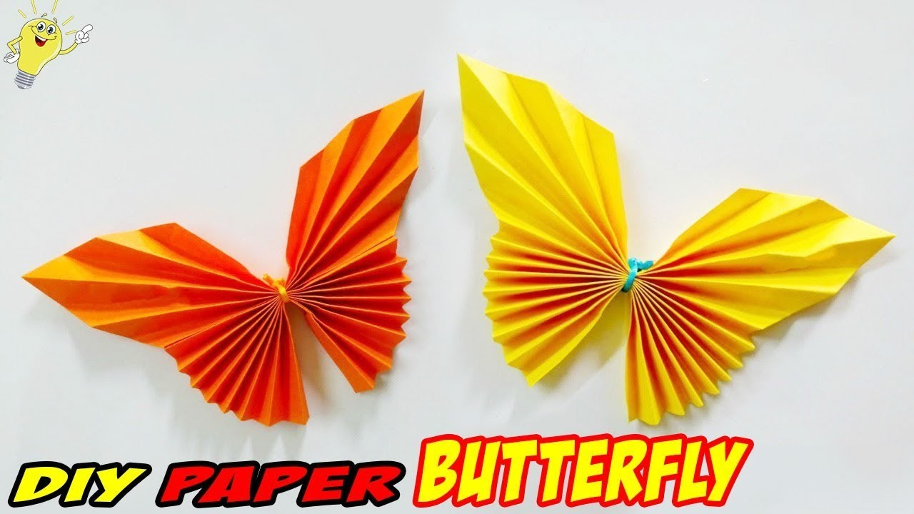 Make Easy Origami Butterfly How To Make An Easy Origami Butterflydiy Paper Butterflyeasy Paper
