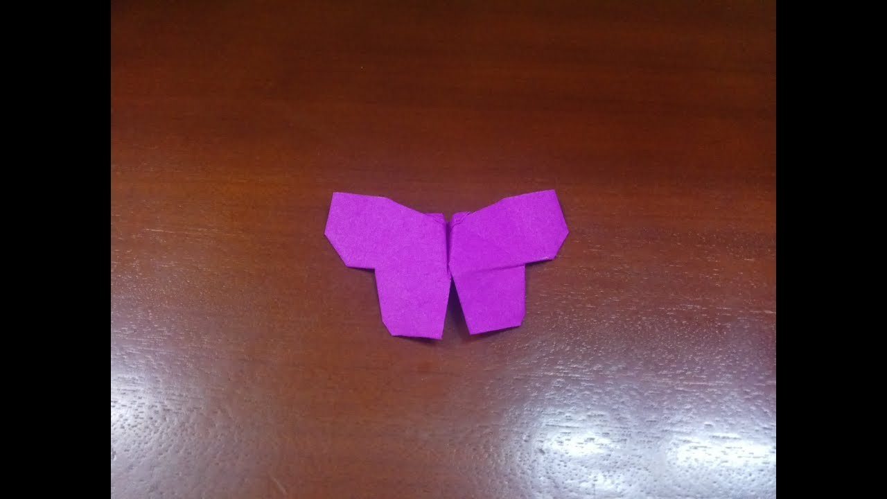 Make Easy Origami Butterfly How To Make Origami Butterfly Easy