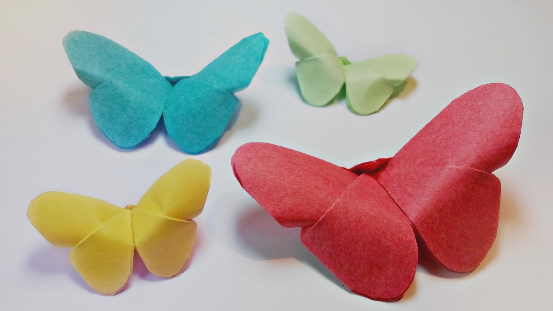 Make Easy Origami Butterfly Procedure Of Origami How To Fold An Origami Butterfly Procedure Of