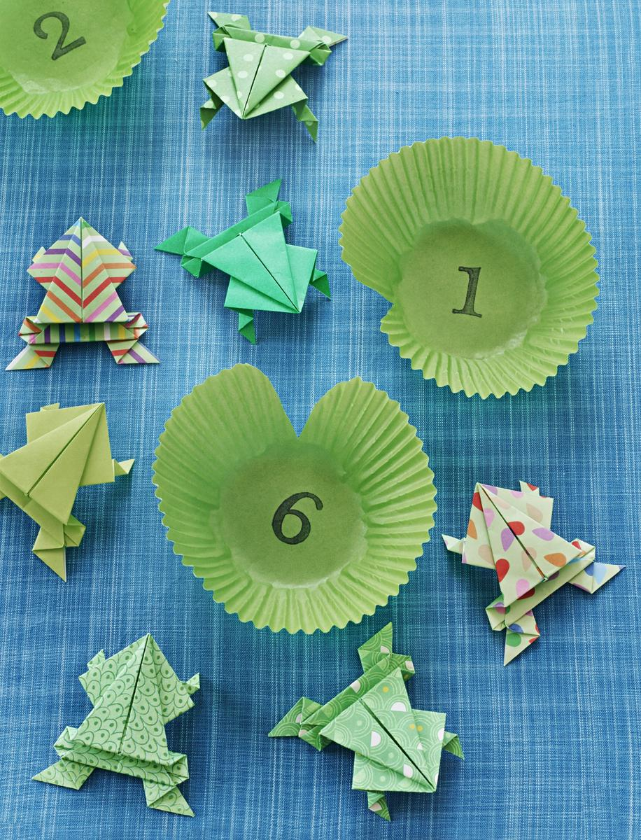 Money Frog Origami How To Make A Jumping Origami Frog Parents