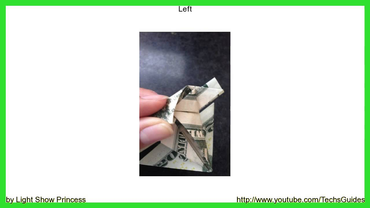 Money Frog Origami How To Make An Origami Jumping Money Frog
