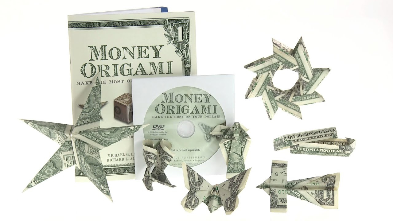 Money Frog Origami Money Origami Set Learn To Create 21 Origami Designs Using Only Money