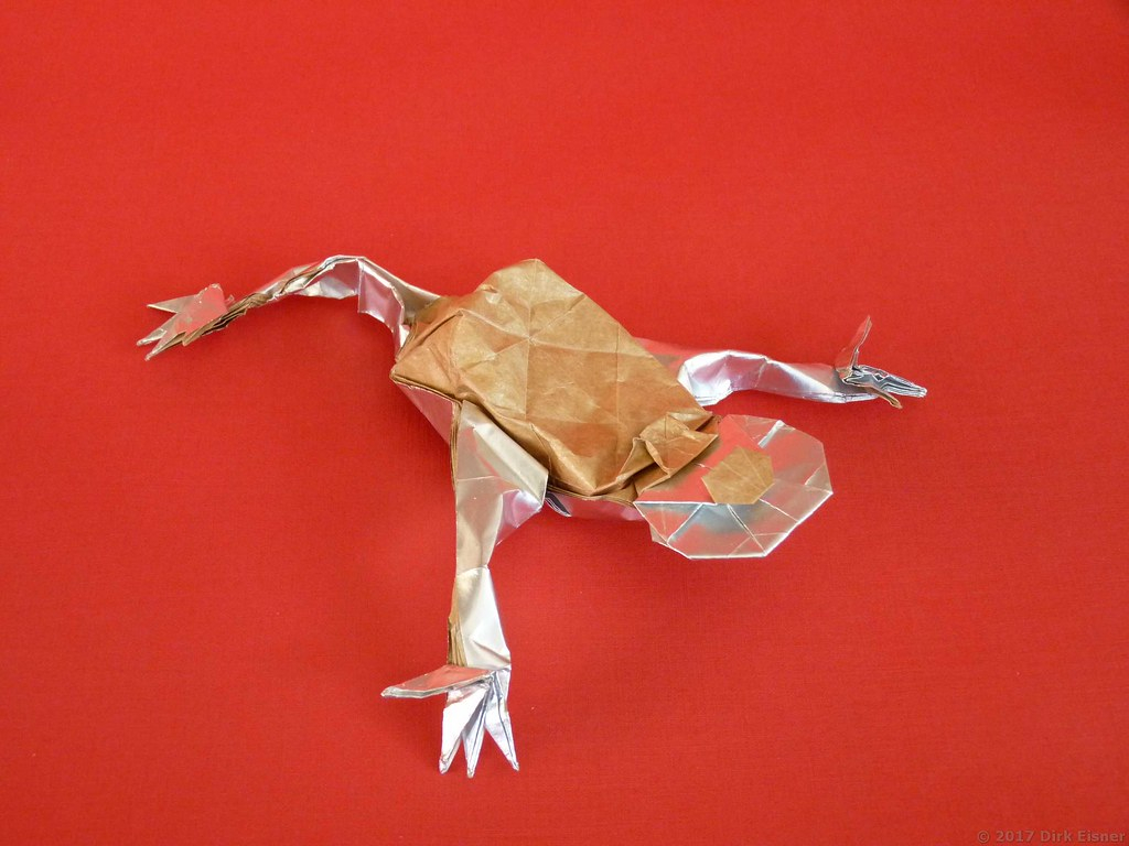 Money Frog Origami Money Toad Llh Diagram In The Free Ebook Chinese New Y Flickr