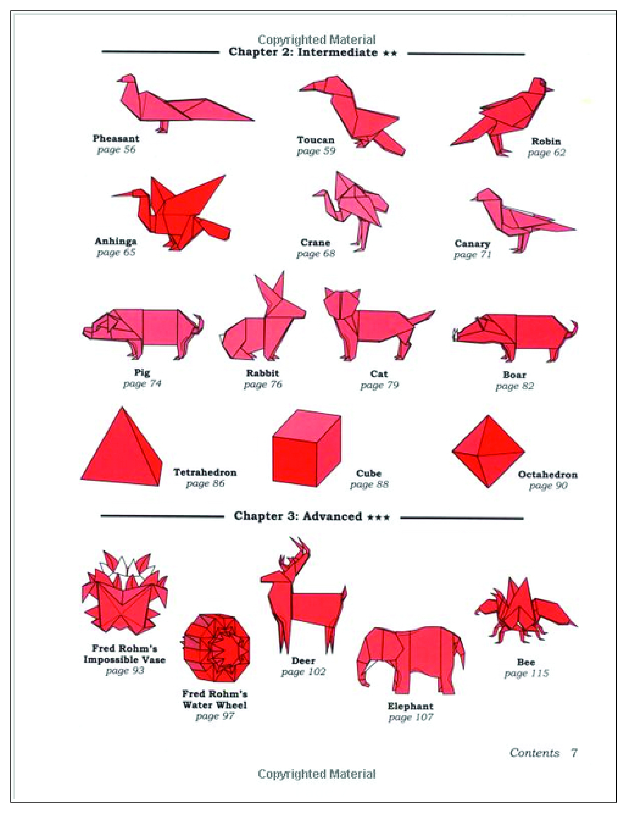 Origami Advanced Diagrams Online Origami Class 1 Text Book Teach Yourself Origami