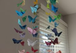 Origami Beads How To Make Diy Origami Butterfly Mobile