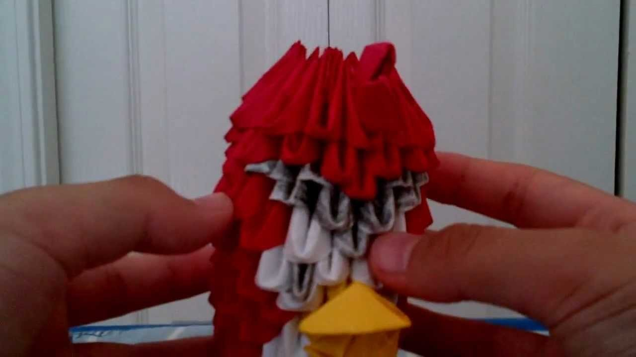 Origami Bow And Arrow 3d Origami Angry Bird And Origami Bow And Arrow
