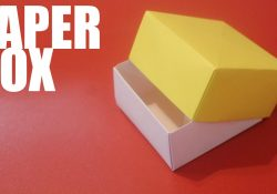 Origami Boxes With Lids Origami Paper Box With Lid Tutorial