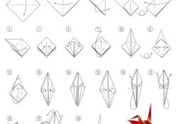 Origami Crane Step By Step Instructions How To Make An Origami Crane Skip To My Lou