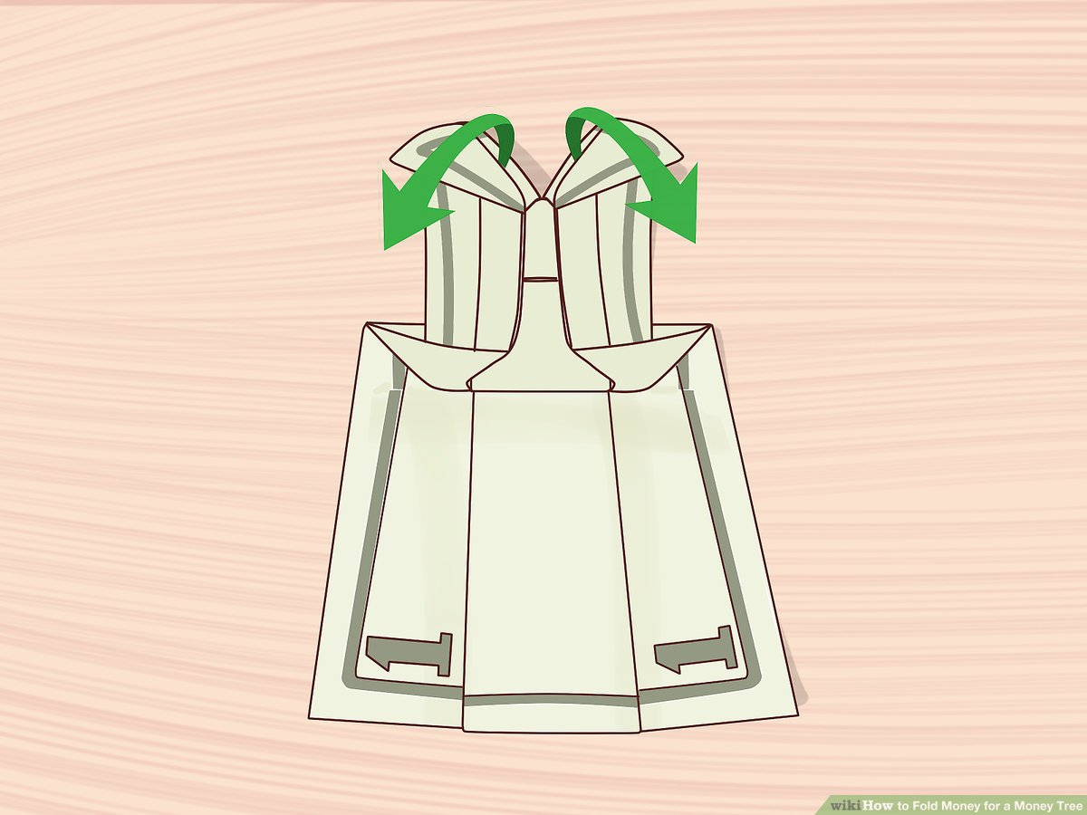 Origami Dollar Bill Shirt With Tie 3 Ways To Fold Money For A Money Tree Wikihow