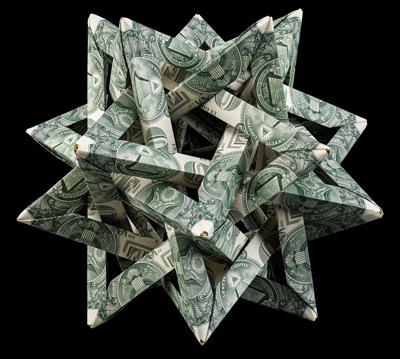 Origami Dollar Bill Shirt With Tie Art From Money Paper Money Origami National Museum Of American