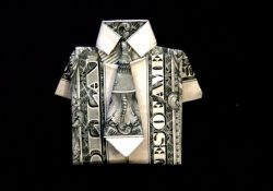 Origami Dollar Bill Shirt With Tie Dollar Origami Shirt Tie Tutorial How To Fold A Dollar Bill In To A Shirt And Tie