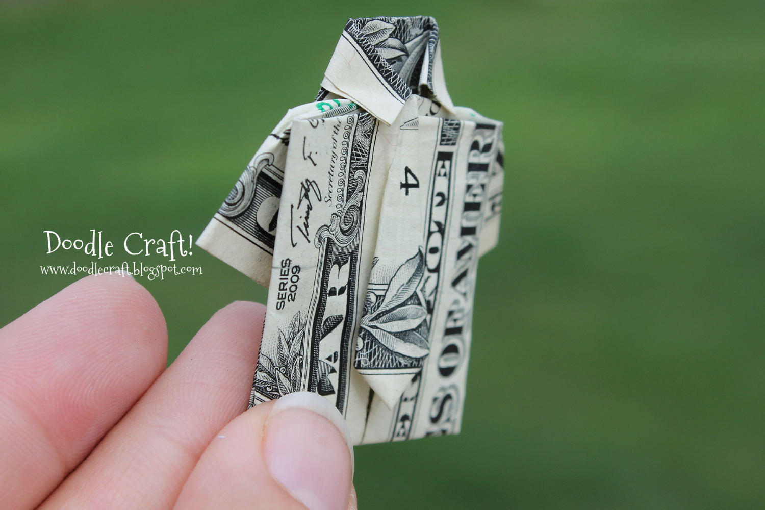 Origami Dollar Bill Shirt With Tie Origami Money Folding Shirt And Tie