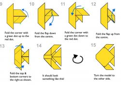 Origami Fish Instructions Step Step Instructions For Making An Origami Fish
