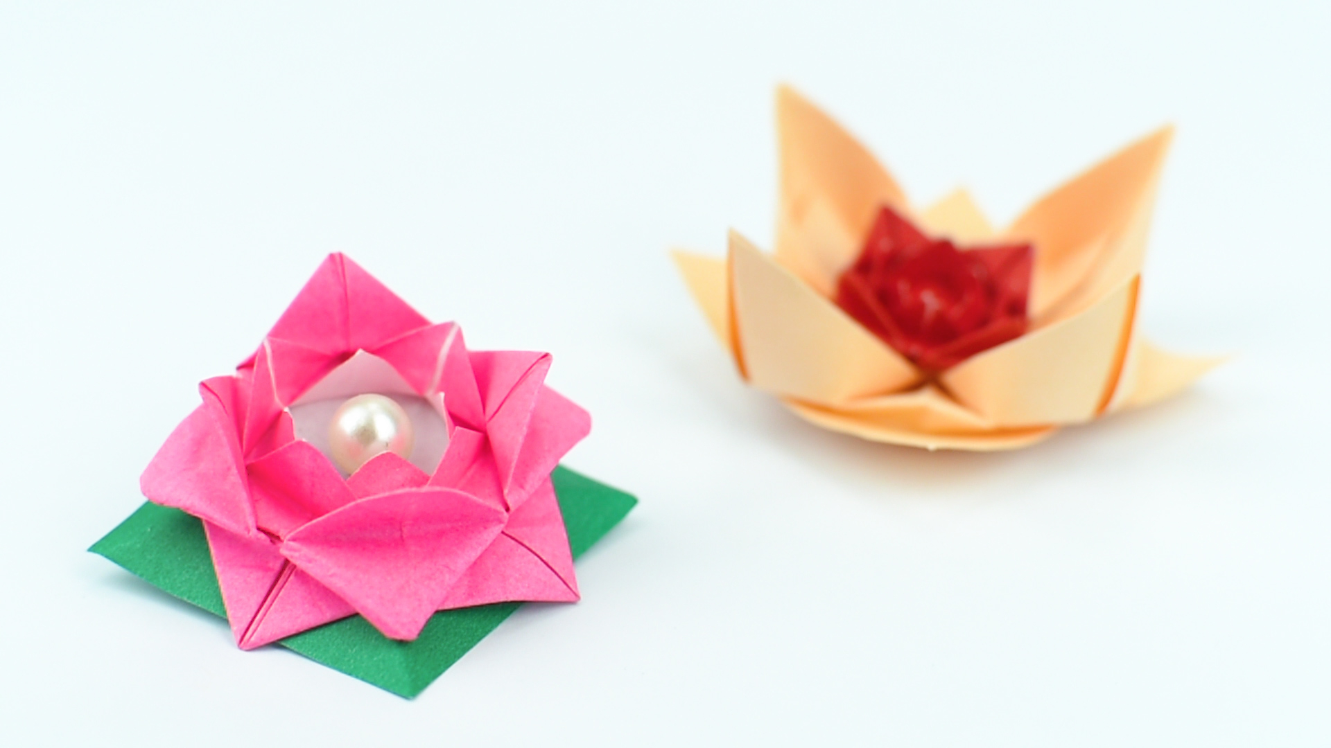 Origami Flower Star 56 Cool Steps Origami Flower With Circle Paper