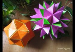 Origami Flower Star Origami Revealed Flower Popup Star
