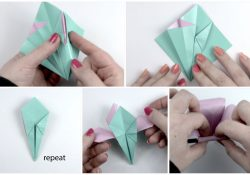 Origami Flower Tutorial Make An Easy Origami Lily Flower