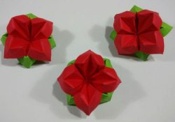Origami Flowers Easy How To Make An Easy Origami Flower