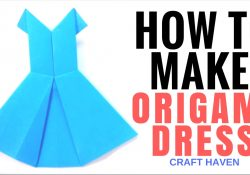 Origami For Kids Clothes How To Make Origami Dress Easy Tutorial For Beginners Paper Dress