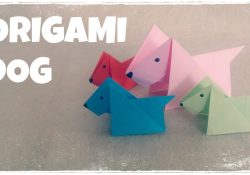 Origami For Kindergarteners Origami For Kids Origami Dog Tutorial Very Easy