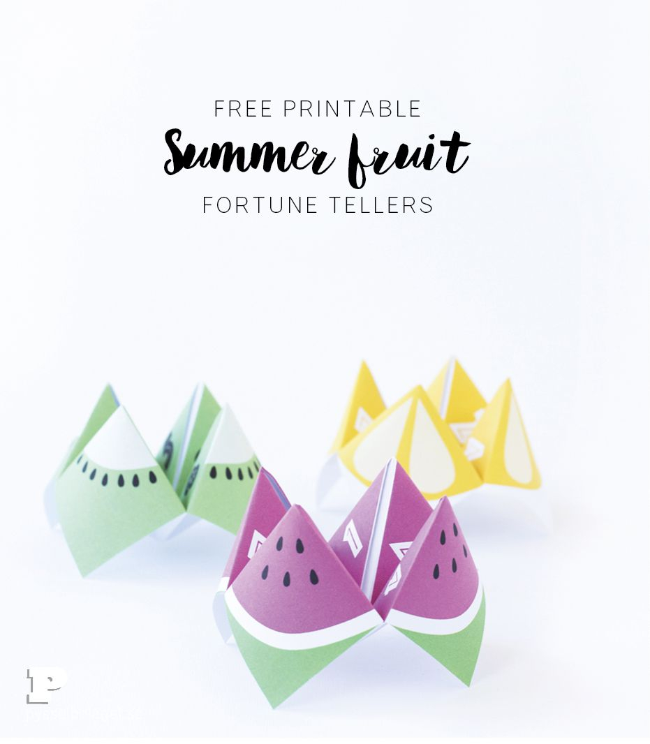 Origami Fortune Teller Sayings 10 Creative Printable Cootie Catchers