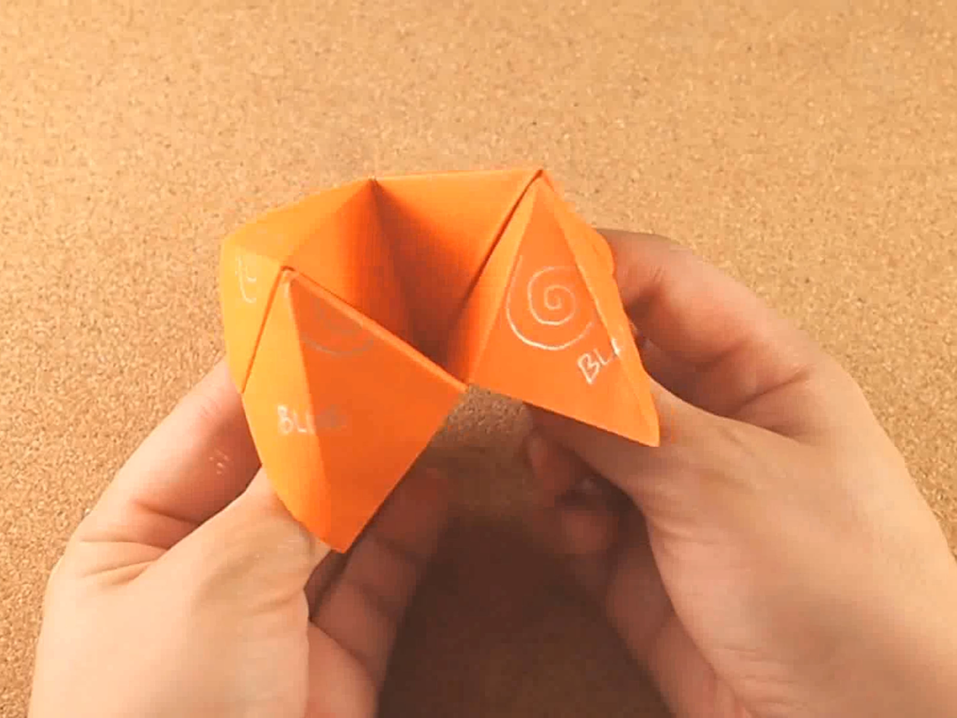 Origami Fortune Teller Sayings How To Make A Cootie Catcher Origami Fortune Teller 10 Steps