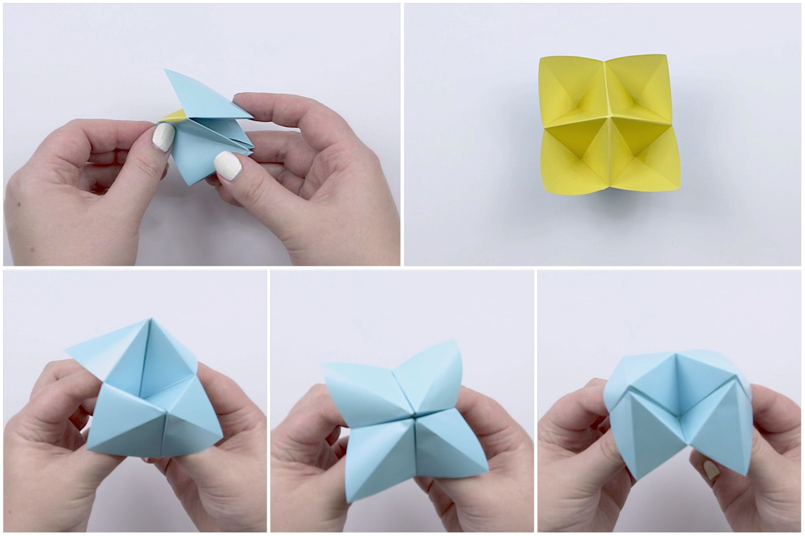 Origami Fortune Teller Sayings How To Make A Paper Fortune Teller Step Step Lovely Bekkie In