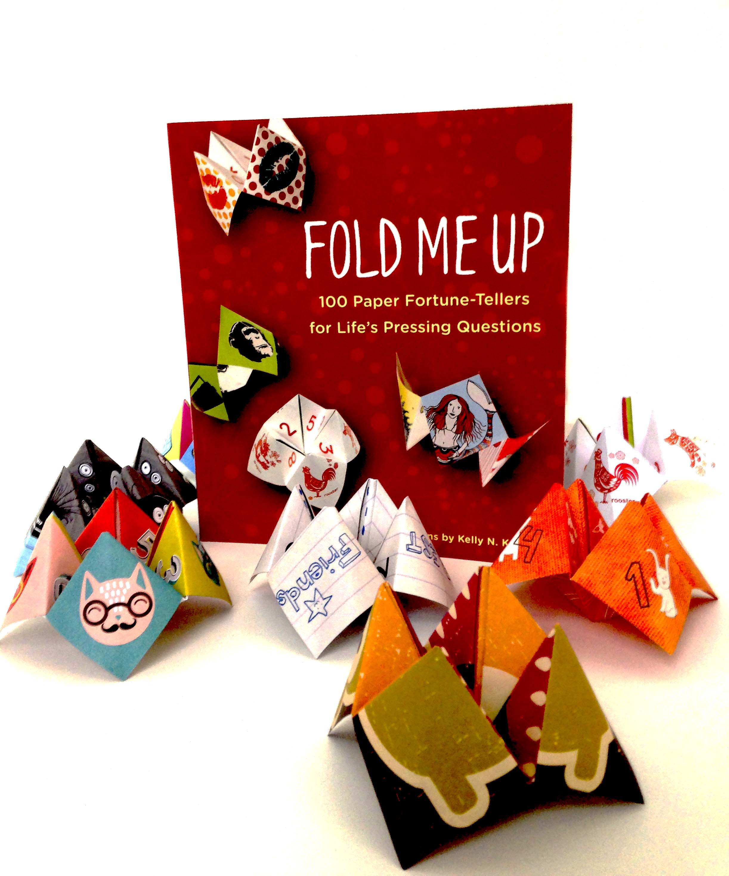 Origami Fortune Teller Sayings Michelle Fold Me Up
