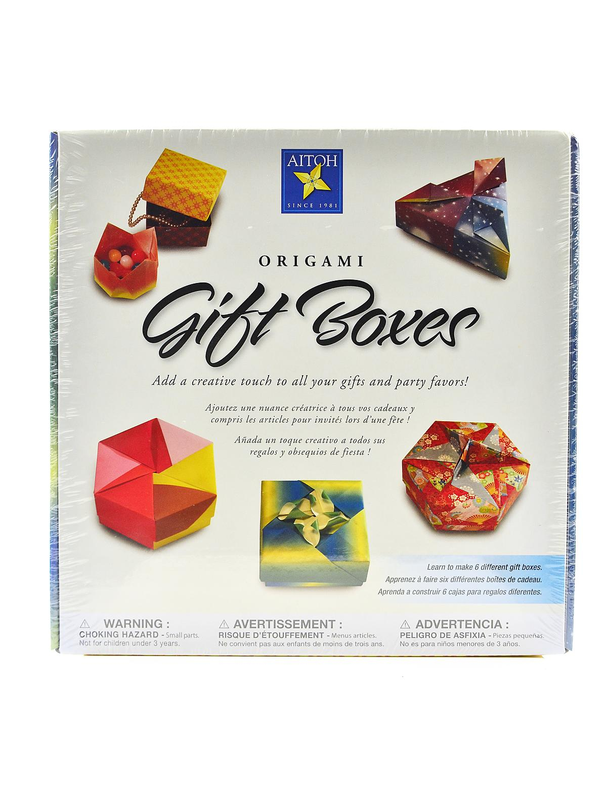 Origami Gift Boxes Aitoh Origami Gift Boxes Misterart