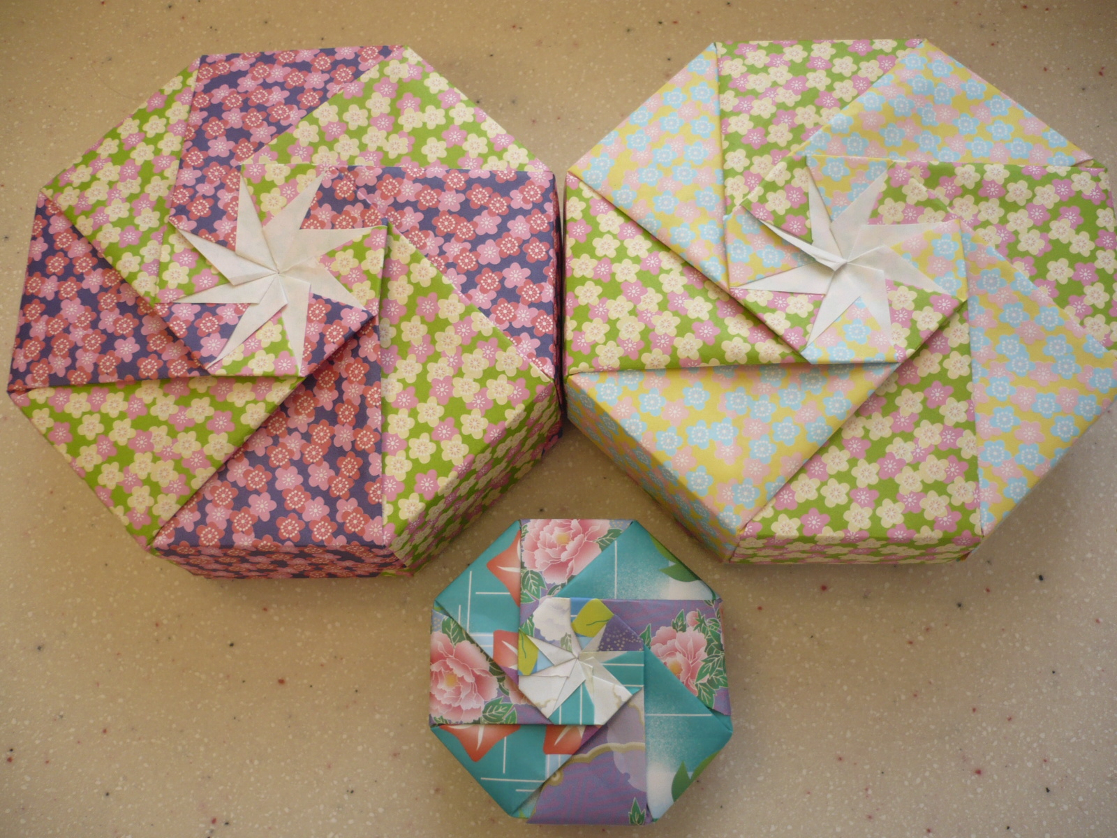 Origami Gift Boxes Lesson 3 3d Gift Boxes Lives With Origami