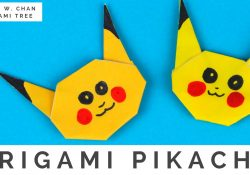 Origami Instructions For Kids Pokmon Origami Crafts How To Fold Origami Pikachu Pokmon Go Easy Origami Instructions For Kids