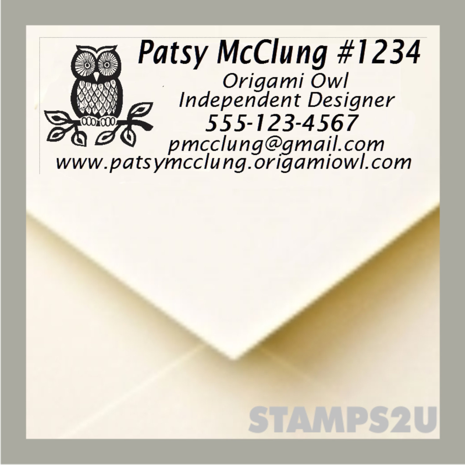 Origami Owl Designer Login Origami Owl Designer Pre Inked Stamp To Use For Your Invoices And Catalogs 2770 No Separate Ink Pad Stop Using Labels