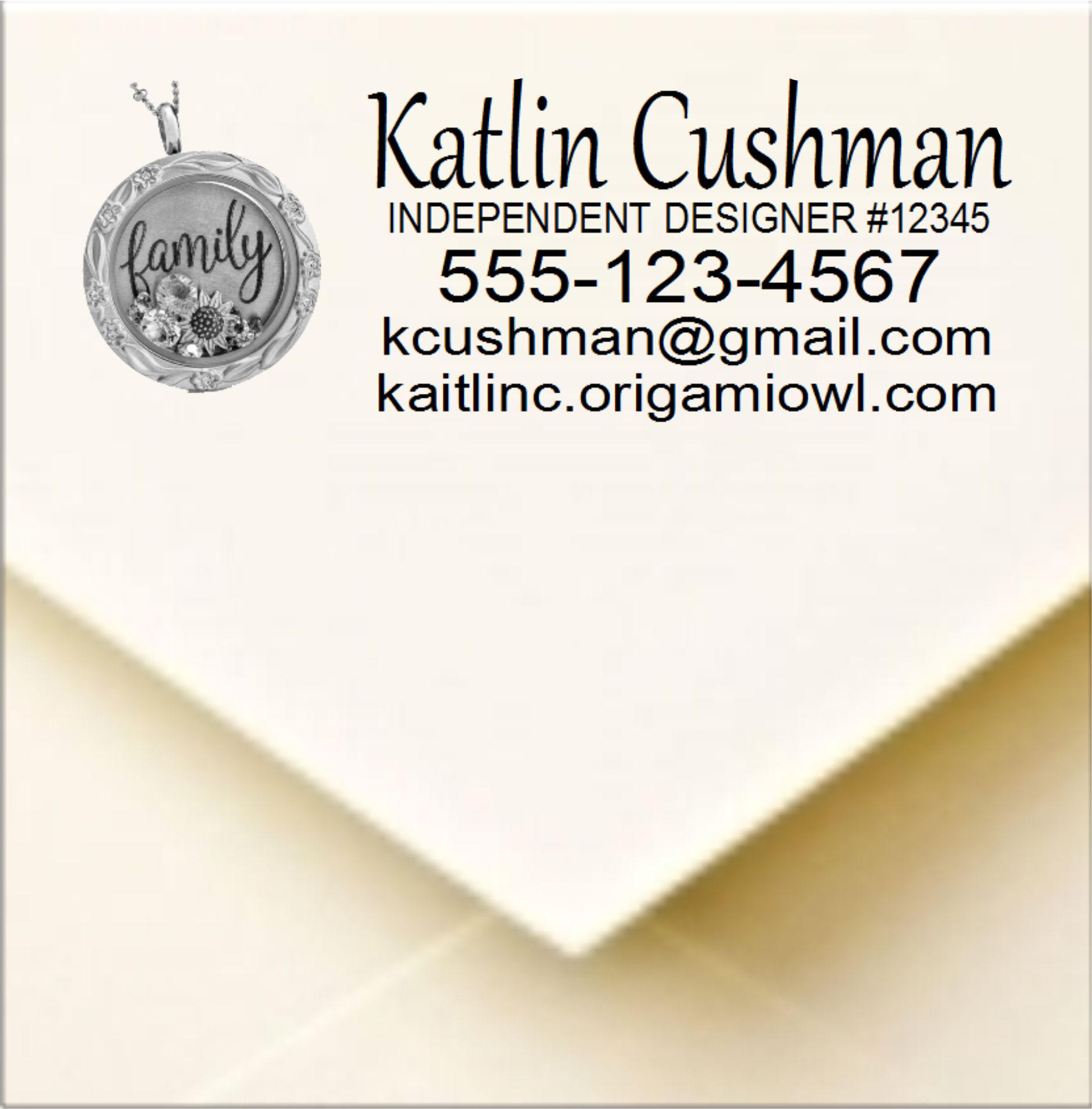 Origami Owl Designer Login Origami Owl Designer Pre Inked Stamp To Use For Your Invoices And Catalogs 2770 Stop Using Labels