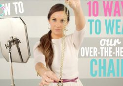 Origami Owl Over The Heart Chain 10 Ways To Wear The Origami Owl Over The Heart Chain
