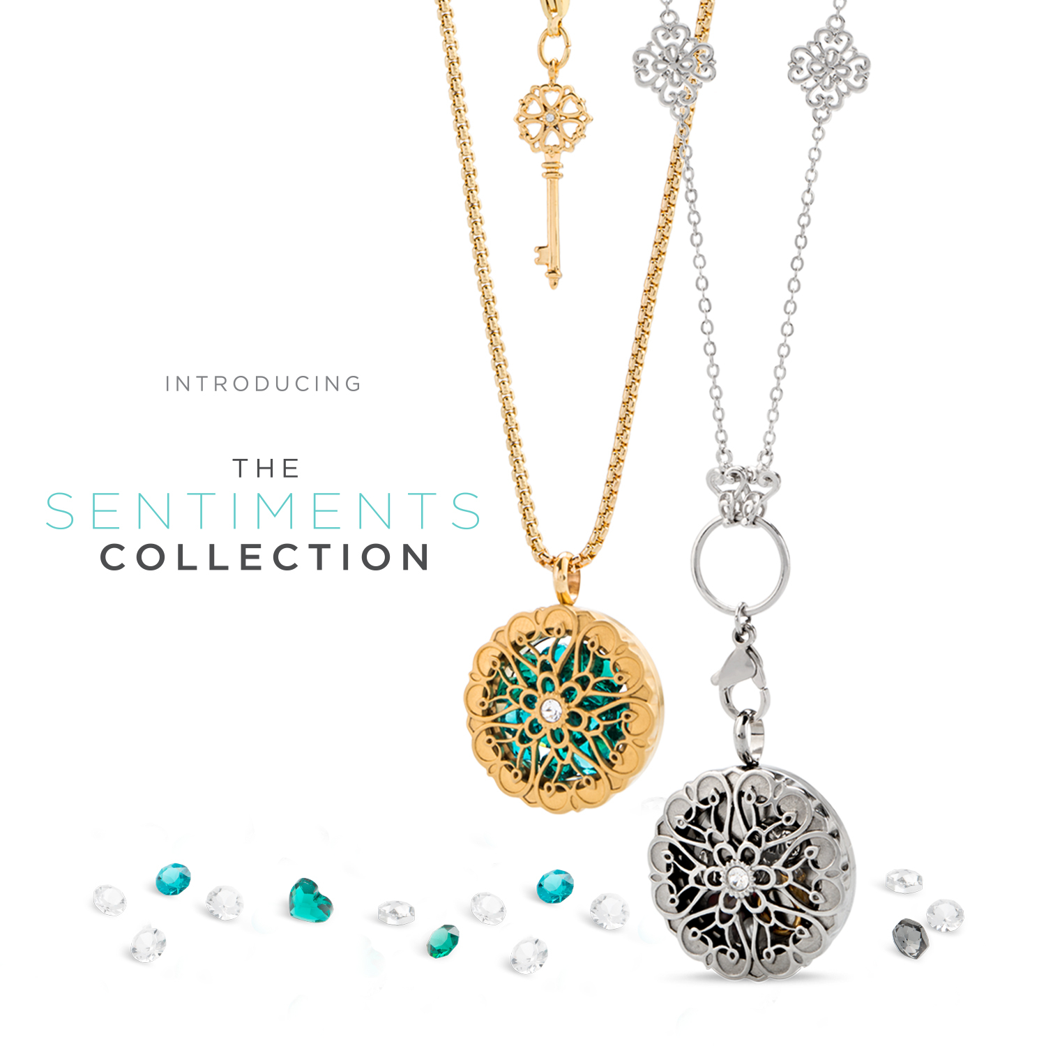 Origami Owl Over The Heart Chain Introducing The Sentiments Moodology Collections Origamiowlnews