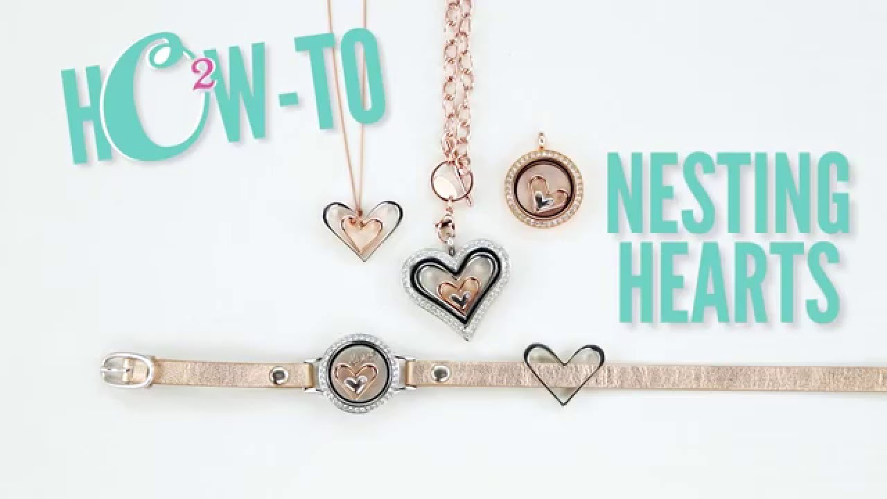 Origami Owl Over The Heart Chain Origami Owl Nesting Hearts The How To Guide
