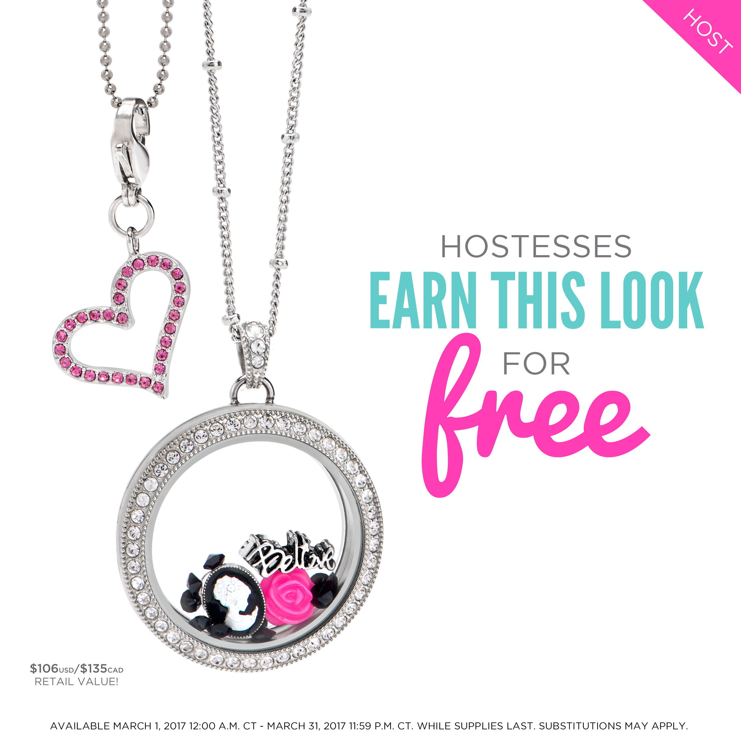 Origami Owl Over The Heart Chain Take A Peek At The March Hostess Exclusive Share It