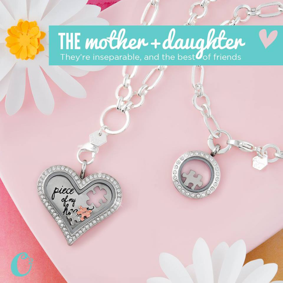 Origami Owl Over The Heart Chain The Mother And Daughter Origami Owl Living Lockets Origami Owl At