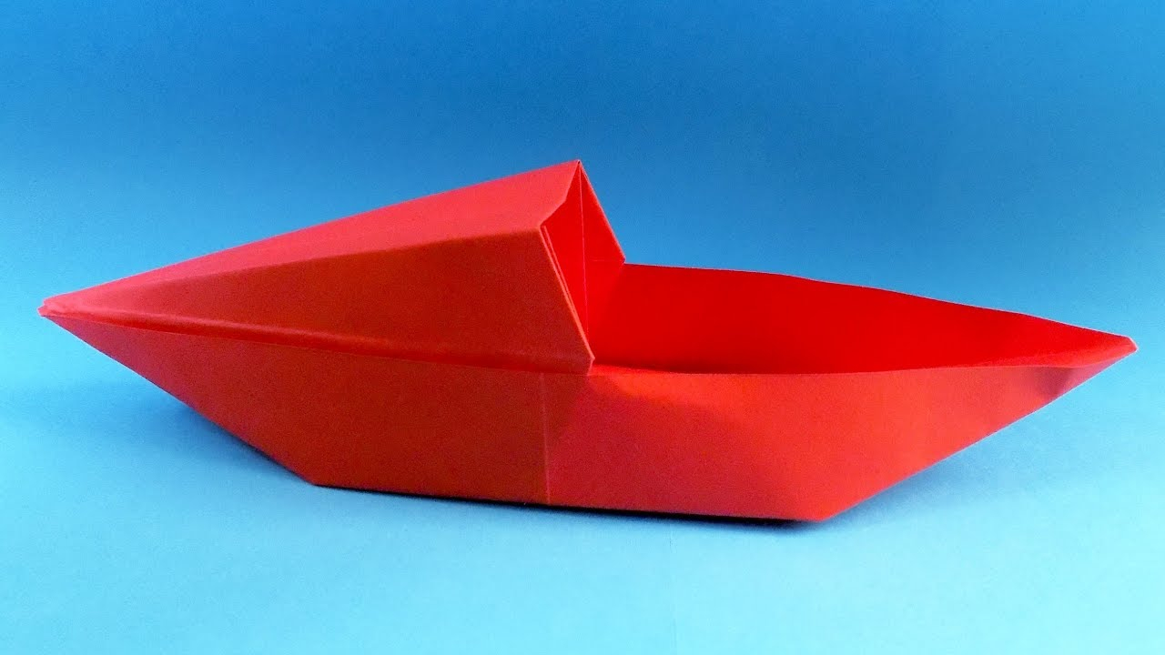 Origami Paper Boat How To Make A Paper Boat Origami Boat