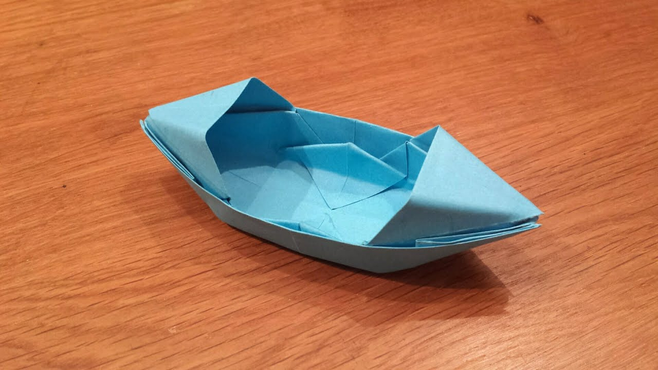 Origami Paper Boat How To Make A Paper Boat That Floats Origami