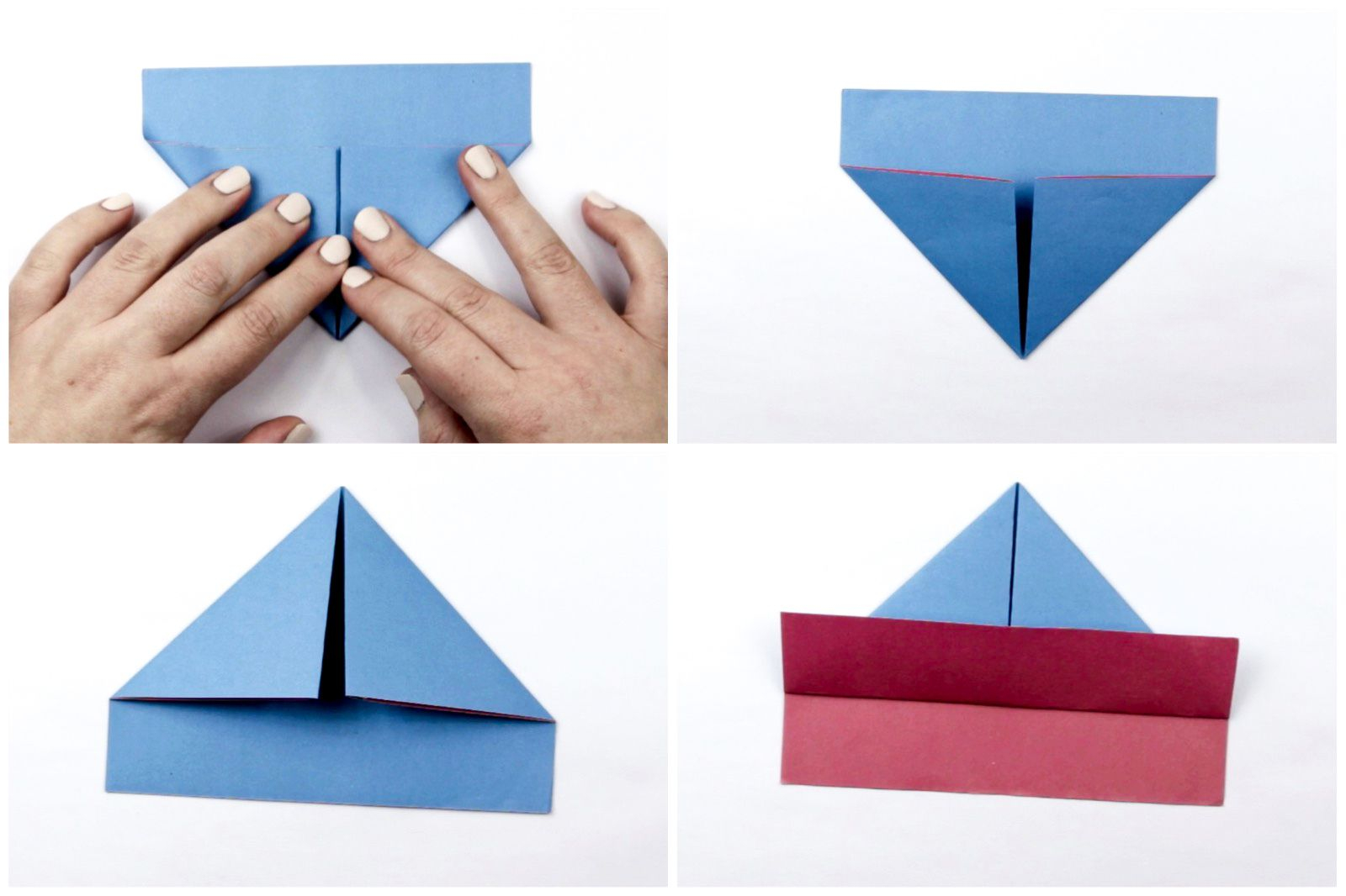 Origami Paper Boat How To Make An Easy Origami Boat