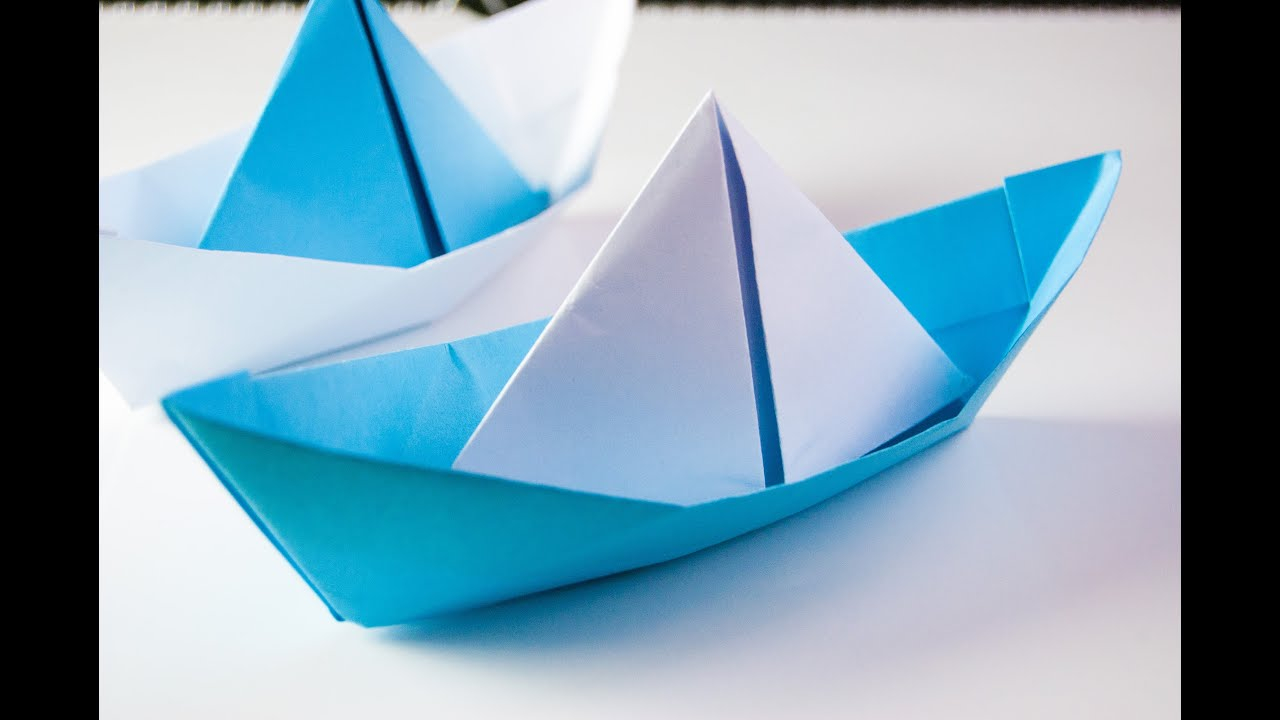 Origami Paper Boat How To Make Origami Boat