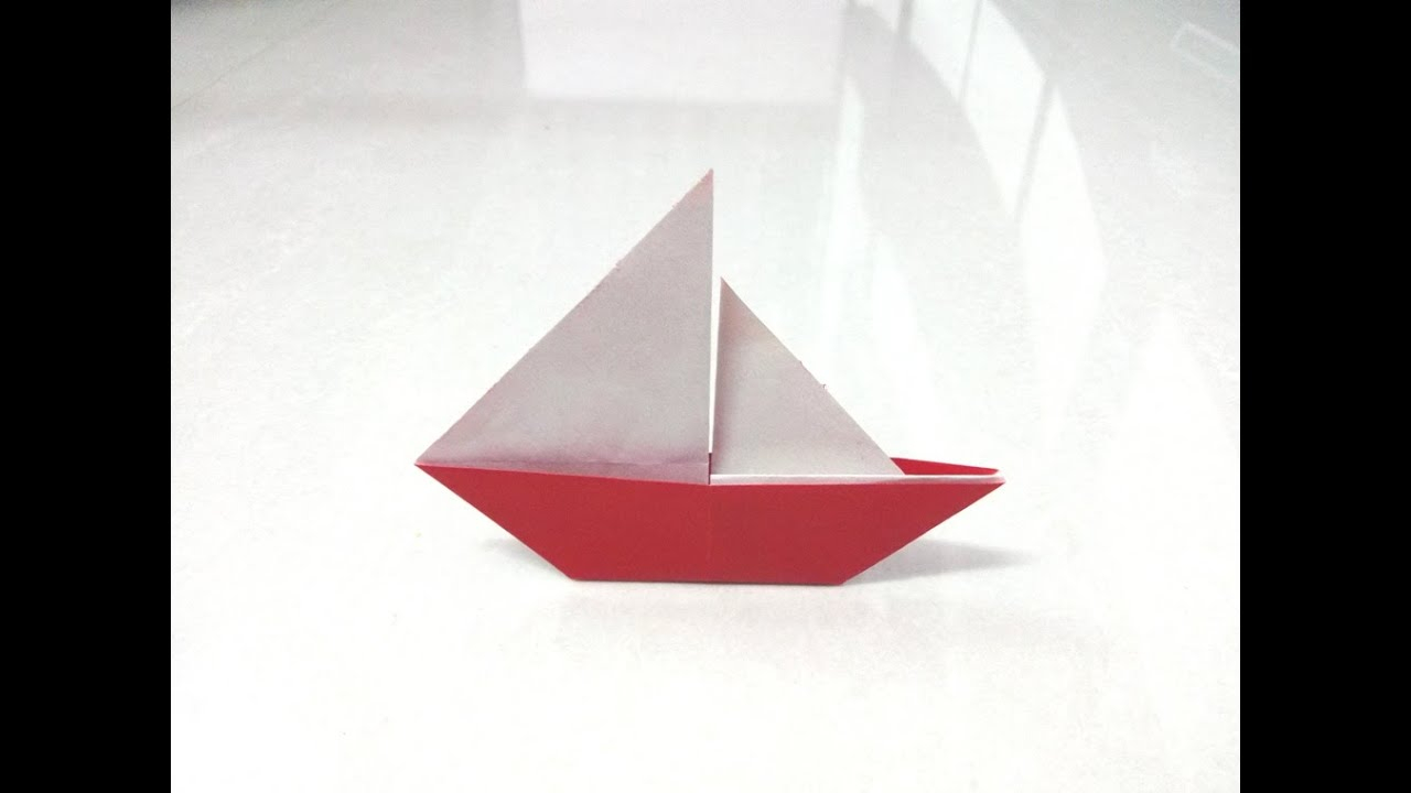 Origami Paper Boat How To Make Origami Paper Boat 2d 2 Origami Paper Folding Craft Videos Tutorials