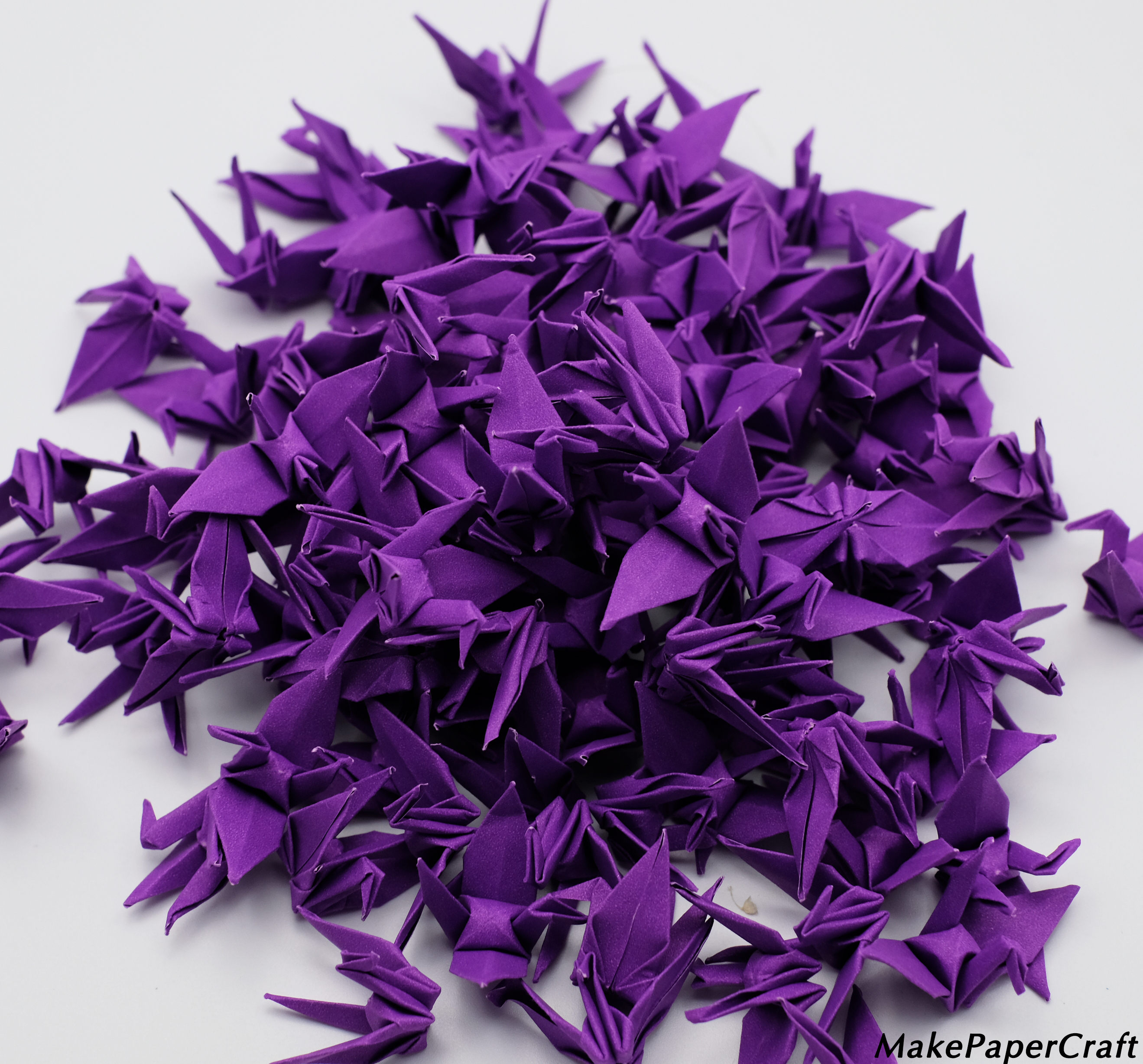 Origami Paper Images 1000 Origami Paper Cranes 15 Dark Purple Origami Cranes Paper Crane For Wedding Gift Decorate Backdrop Weddingorigamipolly