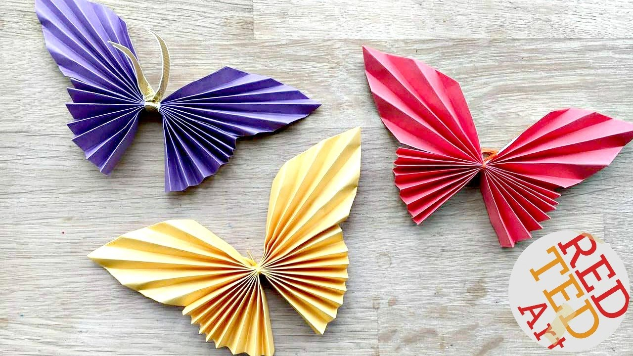 Origami Paper Images Easy Paper Butterfly Origami Cute Easy Butterfly Diy Origami For Beginners