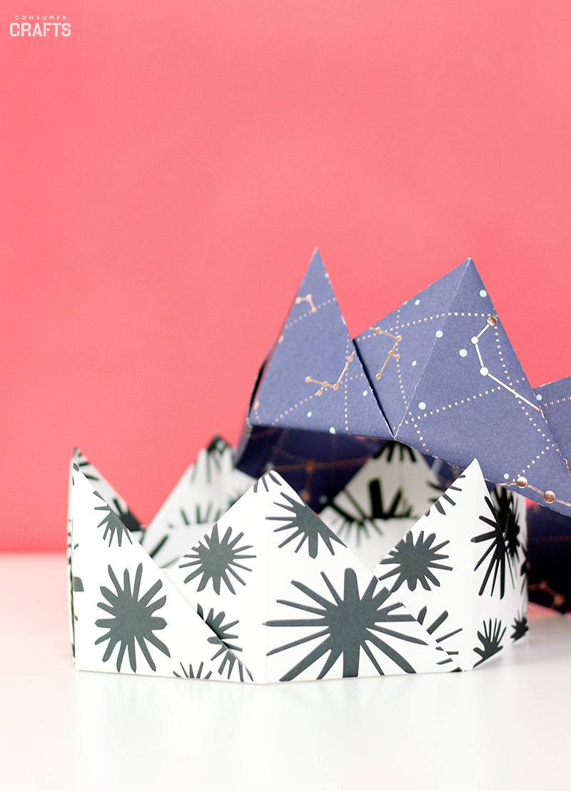 Origami Paper Images Origami Crown Tutorial Step Step Consumer Crafts