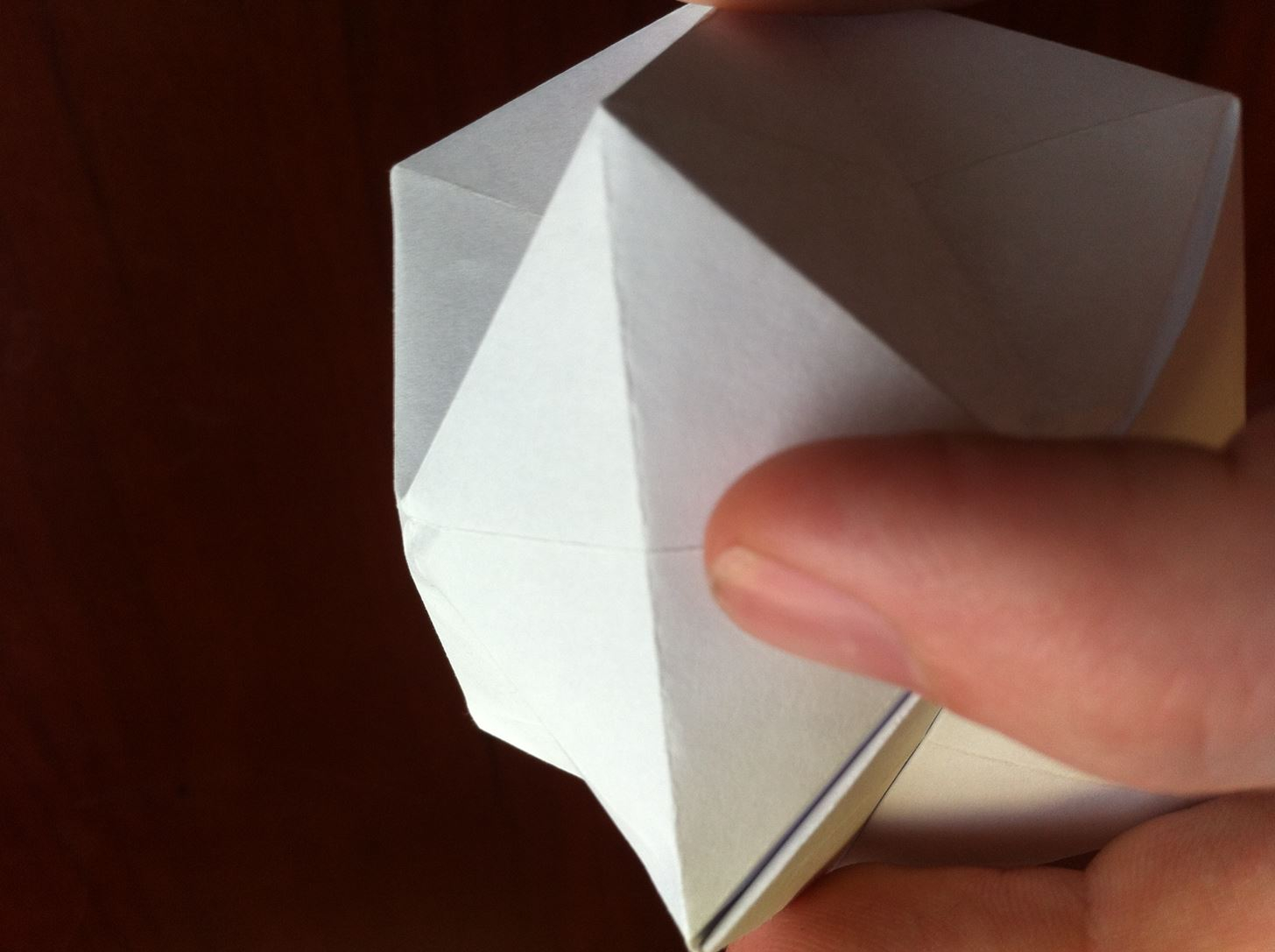Origami Pokeball Instructions How To Fold A Textured Origami Ball Origami Wonderhowto