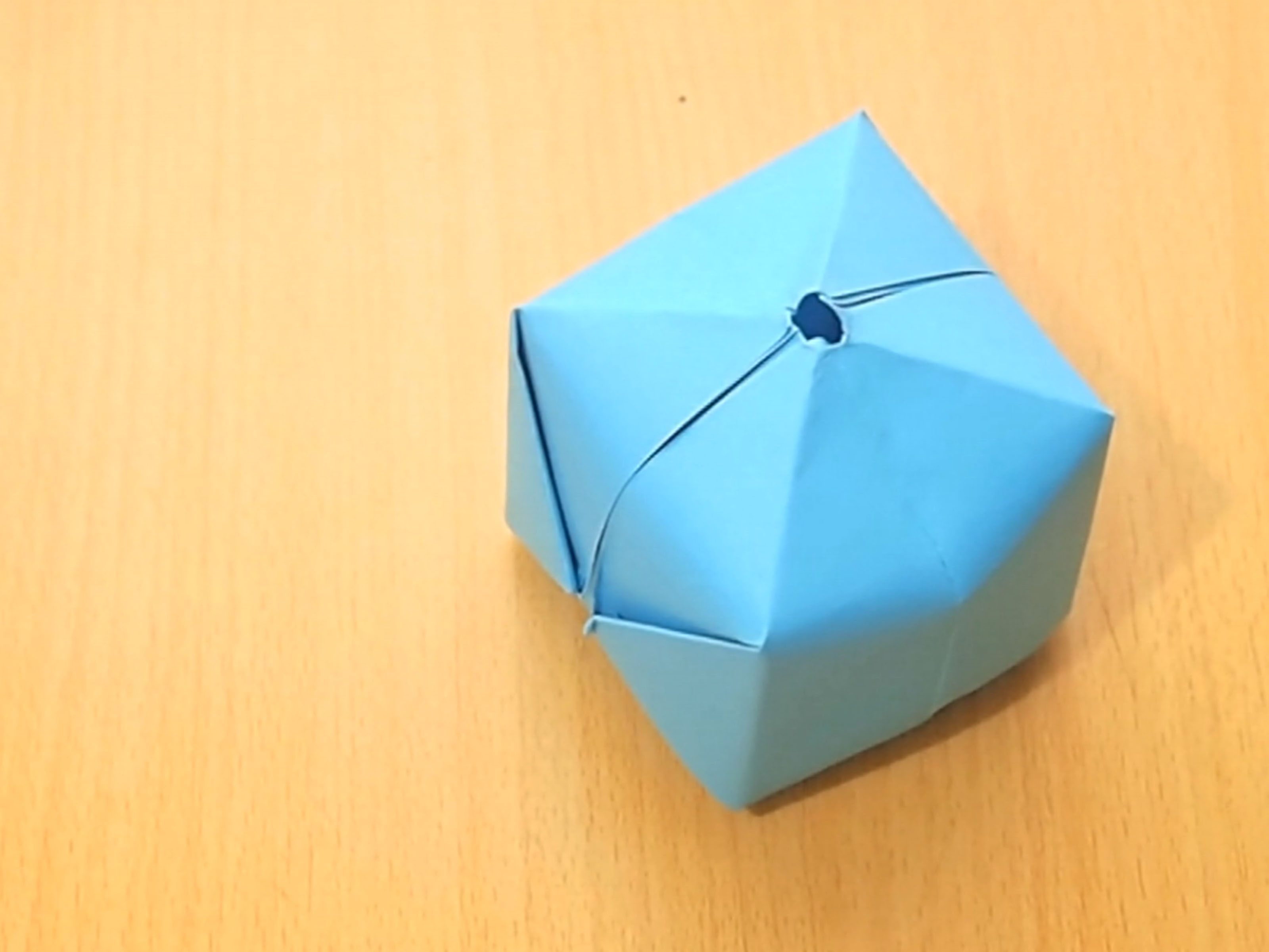 Origami Pokeball Instructions How To Make An Origami Balloon 8 Steps With Pictures Wikihow