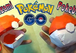 Origami Pokeball Instructions Origami Pokeball That Opens No Music
